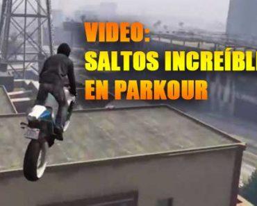 GTA 5 parkour motocicleta